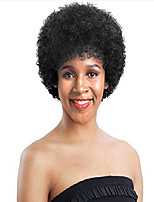 cheap -short afro kinky curly wigs for women natural black machine made brazilian virgin wigs