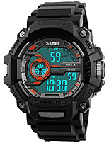 cheap -luxury brand waterproof digital watch men military sports watches fashion casual men's student swim dress led wristwatches (orange)