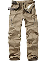 cheap -men's wild cargo pants casual outdoor military tactical combat work hiking trousers,khaki 36