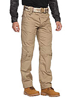cheap -men's tactical pants cargo pants for men hiking pants military training heavy work high-performence khaki