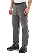 cheap -men's outdoor adventure tactical pants hiking camping stretch roll up durable upf 50+ quick dry cargo trousers (6107 grey 29)