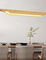 cheap -65/95/120cm LED Pendant Light Modern Nordic Wood Island Light Painted Finishes 110-120V 220-240V