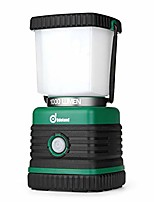 cheap -ultra bright 1000 lumen camping lantern with brightness adjustment, battery powered led lantern of 4 light modes, best for camping, hiking, fishing & emergency (renewed)