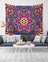 cheap -Wall Tapestry Art Decor Blanket Curtain Picnic Tablecloth Hanging Home Bedroom Living Room Dorm Decoration Polyester Fantasy Overlapping Colors