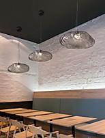cheap -25 cm Single Design Pendant Light Glass Metal LED Nordic Style Dining Room Restaurant 110-120V 220-240V