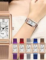cheap -Women's Quartz Watches Quartz Stylish Casual Casual Watch Analog Rose Gold Black Blue