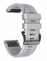 cheap -compatible fenix 5x plus bands sport silicone replacement watch strap for garmin fenix 5x/fenix 5x plus/fenix 6x/fenix 6x pro/fenix 3/hr/descent mk1/d2 delta px/d2 charlie(grey)