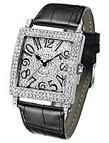 cheap -quartz watch crystal leather girl clock women watches fashion top brand luxury female dress wristwatches