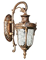 cheap -Vintage Wall Lamps Wall Sconces Outdoor Wall Lights Living Room Outdoor Aluminum Wall Light IP54 110-240 V / E27
