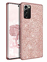 "cheap -galaxy note 20 case, samsung note 20 5g case, slim fit shockproof hybrid hard pc soft tpu bumper rugged protective girls women case cover for samsung galaxy note 20 6.7"" 2020, rose gold"