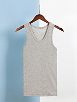 cheap -men's sleeveless v neck undershirts cotton fitted tank top a shirts, 3 pack of white - xl