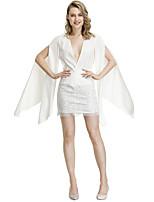 cheap -Women's Shift Dress Short Mini Dress - Long Sleeve Solid Color Lace Summer Elegant 2020 White S M L XL