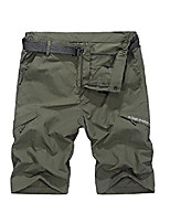 cheap -mens tatical quick dry hiking shorts elastic waist lightweight active travel with zipper pockets,#6615,armygreen,us 28 (tag m)