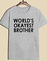 cheap -world's okayest sister t shirt funny siblings tee for sisters-purple-6xl
