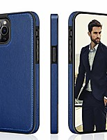 "cheap -case for iphone 12 pro max, classic pu leather cover, business designer thin fit flexible non-slip anti-scratch protective phone cases compatible with iphone 12 pro max(2020) 6.7"" - blue"
