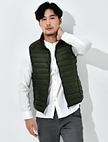 cheap -mens puffer vest packable down sleeveless jacket lightweight winter outerwear