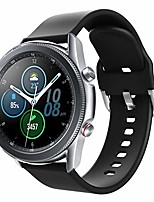 cheap -bands compatible with samsung galaxy watch 3 45mm/gear s3 frontier/classic/galaxy watch 46mm and other fit 22mm band, silicone band strap replacement wristband for women men