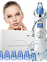 cheap -blackhead remover, comedo vacuum suction remover,  comedo/acne/blackhead suction facial cleaner with 6 multi-functional probes and 5 adjustable suction level for all skin types