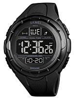 cheap -SKMEI Men's Sport Watch Digital Modern Style Stylish Army Calendar / date / day Digital Black Green / One Year / Silicone