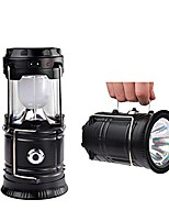 cheap -solar power lantern, portable outdoor led camping lantern collapsible camping equipment flashlights for hiking camping emergencies lights