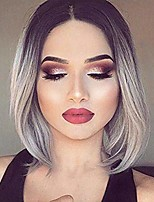 cheap -short bob straight synthetic hair wigs for black women andromeda middle part glueless natural hair line hair wigs cosplay costume halloween daily life wigs (white)