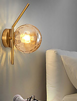 cheap -Modern Nordic Style Wall Lamps Wall Sconces Living Room Bedroom Iron Wall Light 110-120V 220-240V