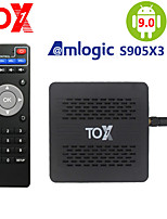 cheap -2020 TOX1 Amlogic S905X3 Smart Android 9.0 TV Box 4GB RAM 32GB ROM 2.4G 5G WiFi Bluetooth 1000M LAN USB 3.0 4K HD Set top Box