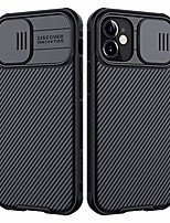 """cheap -compatible with iphone 12 mini case with slide camera cover slim stylish anti-slip scratchproof protective case for iphone 12 mini 5.4"""" 2020 - black"""