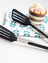 cheap -Cooking Utensils Stainless Steel + Plastic Tools Tong Multifunction 1pc