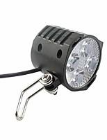cheap -bicycle lights e-bike led headlight 12v 24v 36v 48v 60v 72v bicycle light with horn waterproof front headlight easy installation (color : black)