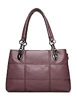 cheap -genuine leather handbags for women top handle satchel handbag tote shoulder bag purse crossbody bag (blue)