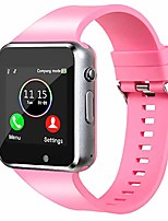 cheap -smart watch,unlocked smartwatch compatible with bluetooth/android/ios (partial functions) touchscreen call text camera music player notification sync smart watches for women men kids (lightpink)