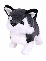 cheap -electronic pet plush dog cute fashion simulation interactive puppy children's toy walking barking tail wagging stretching companion animal gifts for kids