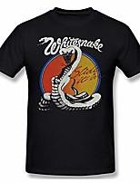 cheap -whitesnake slide it in tour concert men's basic short sleeve t-shirt black