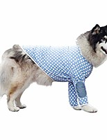 cheap -pet clothes, winter dog shirt large dog pajamas cotton t-shirt wave point dog costume for medium large dog (10xl, blue)