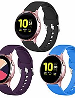 cheap -for samsung galaxy watch 3 41mm band/galaxy active 2 watch band/galaxy watch 42mm bands, 20mm silicone watch band with quick release pins for gizmo watch,galaxy watch active,3pack,large