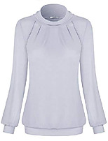 cheap -womens plus size puff sleeve tops for women dressy tunics for women for evening (white, xx-large)