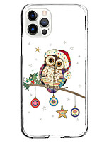 cheap -Christmas Style Case For Apple iPhone 12 iPhone 12 Mini iPhone 12 Pro Max Unique Design Protective Case with Screen Protector Back Cover TPU