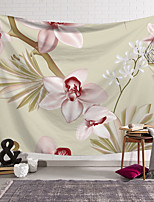cheap -Wall Tapestry Art Decor Blanket Curtain Hanging Home Bedroom Living Room Decoration Polyester Plant Flower Floral Blooming