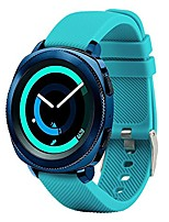 cheap -20mm band compatible samsung gear sport/samsung galaxy watch 42mm/samsung galaxy watch active/active2(40mm)/for garmin vivoactive 3/ ticwatch 2/amazfit bip quick release watch soft silicone band