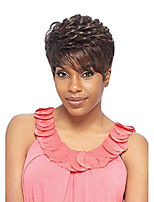 cheap -dayna (tea) - synthetic short flipped style wig