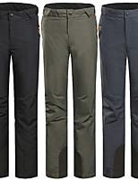 cheap -Men's Ski / Snow Pants Skiing Snowboarding Winter Sports Waterproof Windproof Warm 100% Polyester Warm Pants Ski Wear
