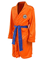 cheap -Inspired by Dragon Ball Son Goku Anime Cosplay Costumes Japanese Cosplay Suits Waist Belt Bath Robe For Men's Boys'