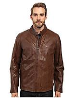 cheap -men's rhinecliff lightweight calf moto jacket, mahogany, large