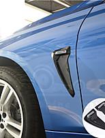cheap -Shark Gills Side Fender Vent Decoration 3D Stickers For BMW E46 F30 E90 E60 F20 F10 E36 E39 E87 E70 G30 performance Car-Styling