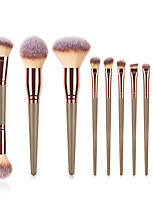 cheap -Professional Makeup Brushes 10pcs Soft Full Coverage Comfy Plastic for Makeup Tools Eyeliner Brush Blush Brush Makeup Brush Lip Brush Eyebrow Brush Eyeshadow Brush