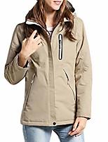 cheap -windproof rain tactical jacket,woman/man electronic heating jacket usb waterproof fashion multi color coat khaki
