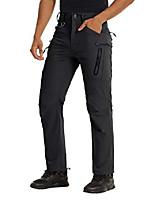 cheap -hiking pants mens with zipper pockets quick dry pants men lightweight pants water repellent tactical pants cargo pants men fishing pants for men black