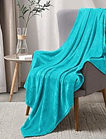 cheap -fleece blankets teal throw blankets for couch & bed,plush microfiber fuzzy blanket, super soft warm blankets for winter