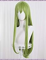 cheap -halloweencostumes labeauté fate/grand order enkidu long green cosplay wig, girls princess anime halloween costume hair wig